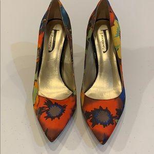 Multi print heels